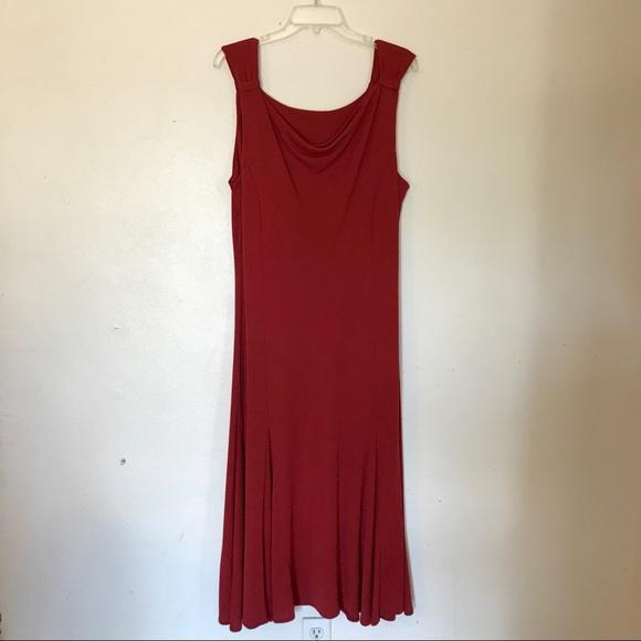 Dresses & Skirts - 3/$18 Brick Red Formal Dress